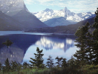 Upper St. Mary Park - Glazier National Park - Montana - $30.00